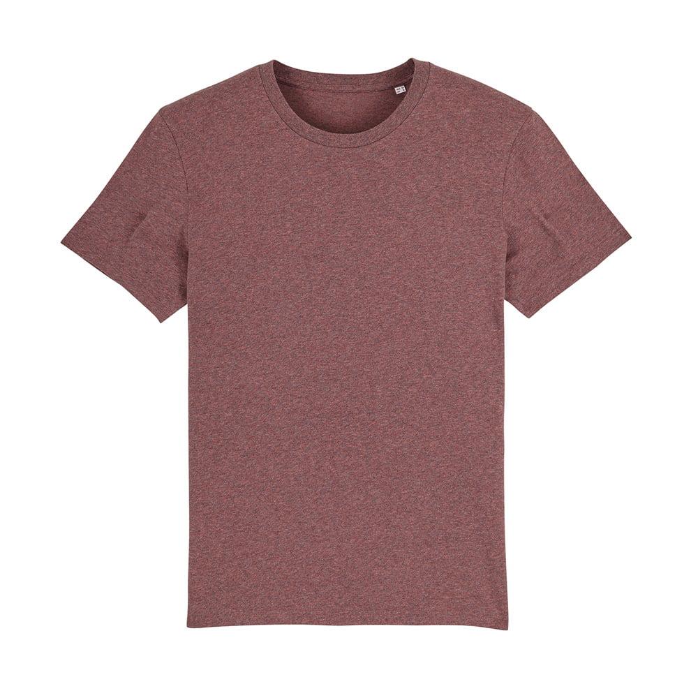 Koszulki T-Shirt - T-shirt unisex Creator - STTU755 - Black Heather Cranberry - RAVEN - koszulki reklamowe z nadrukiem, odzież reklamowa i gastronomiczna