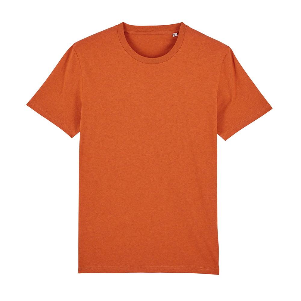 Koszulki T-Shirt - T-shirt unisex Creator - STTU755 - Black Heather Orange - RAVEN - koszulki reklamowe z nadrukiem, odzież reklamowa i gastronomiczna