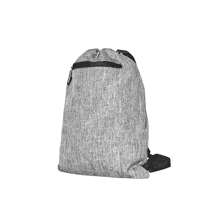 Torby i plecaki - Gymsac - Miami - DTG-15391 - Grey Melange/Black - RAVEN - koszulki reklamowe z nadrukiem, odzież reklamowa i gastronomiczna
