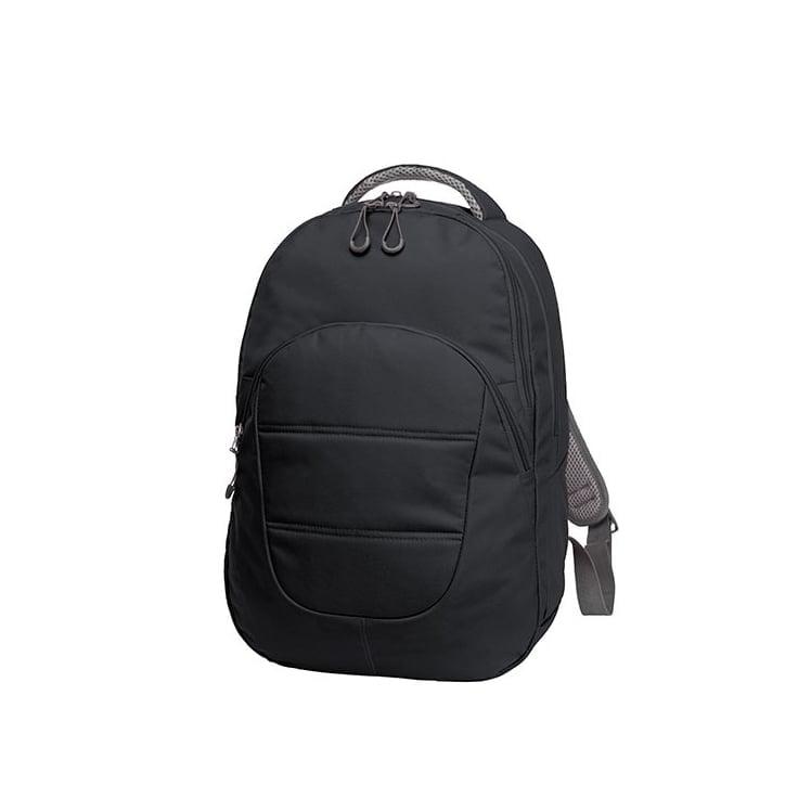 Torby i plecaki - Notebook-Backpack Campus - 1812213 - Black - RAVEN - koszulki reklamowe z nadrukiem, odzież reklamowa i gastronomiczna