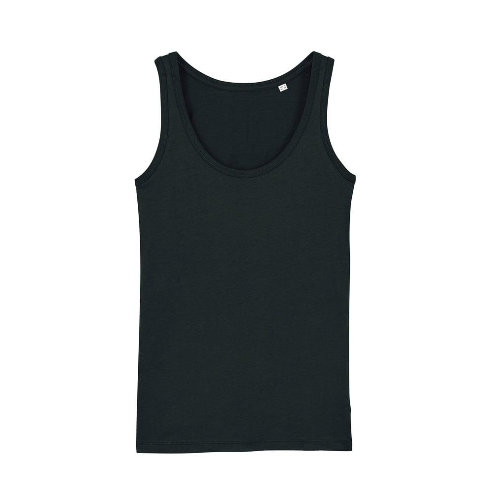 Koszulki T-Shirt - Damski Tank Top Stella Dreamer - STTW013 - Black - RAVEN - koszulki reklamowe z nadrukiem, odzież reklamowa i gastronomiczna