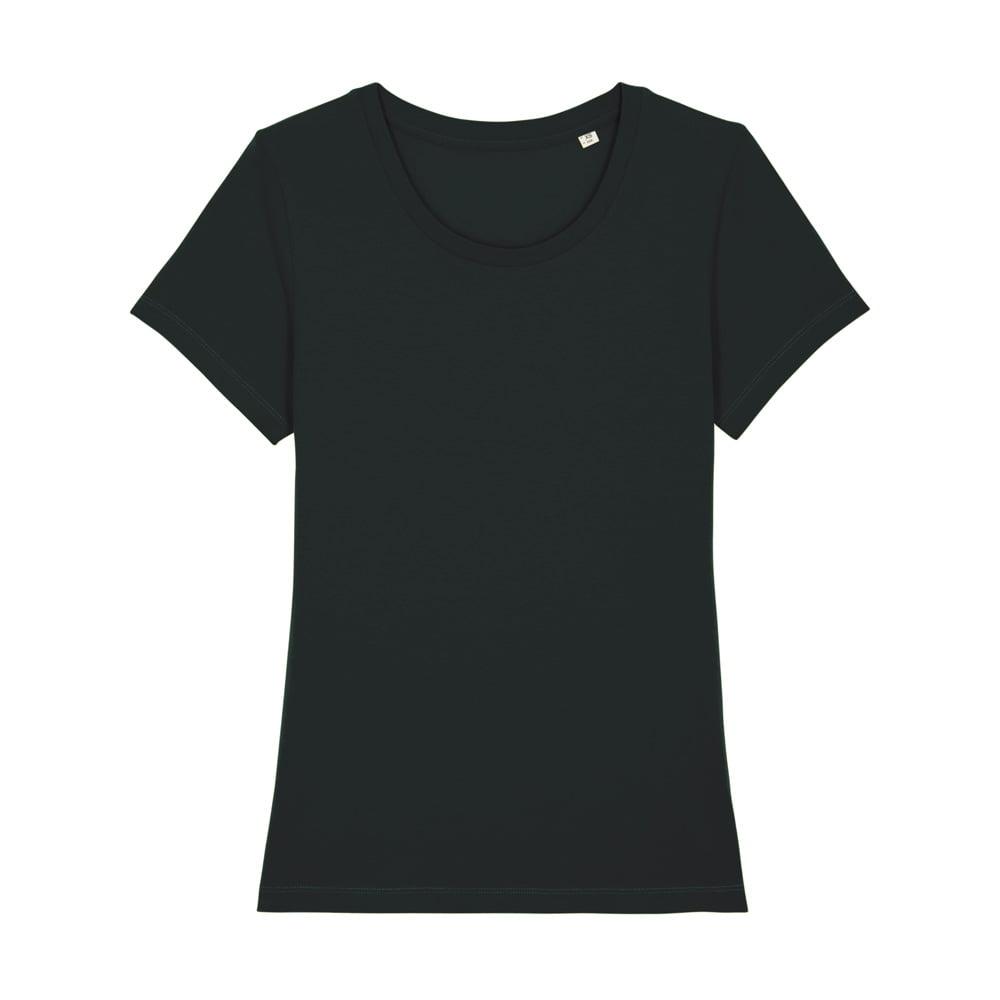 Koszulki T-Shirt - Damski T-shirt Stella Expresser - STTW032 - Black - RAVEN - koszulki reklamowe z nadrukiem, odzież reklamowa i gastronomiczna