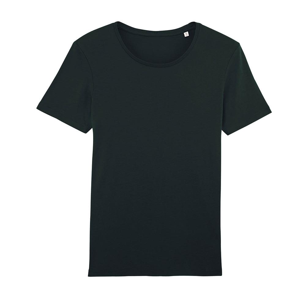 Koszulki T-Shirt - Męski T-shirt Stanley Enjoys Modal - STTM518 - Black - RAVEN - koszulki reklamowe z nadrukiem, odzież reklamowa i gastronomiczna