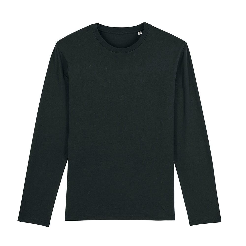 Koszulki T-Shirt - Męski Longsleeve Stanley Shuffler - STTM560 - Black - RAVEN - koszulki reklamowe z nadrukiem, odzież reklamowa i gastronomiczna
