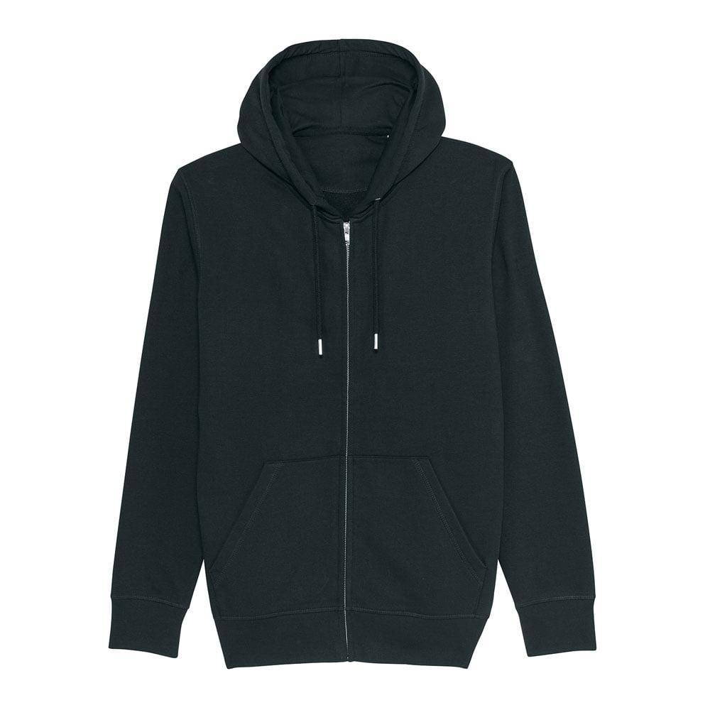 Bluzy - Bluza Unisex z Kapturem Connector - STSU820 - Black - RAVEN - koszulki reklamowe z nadrukiem, odzież reklamowa i gastronomiczna