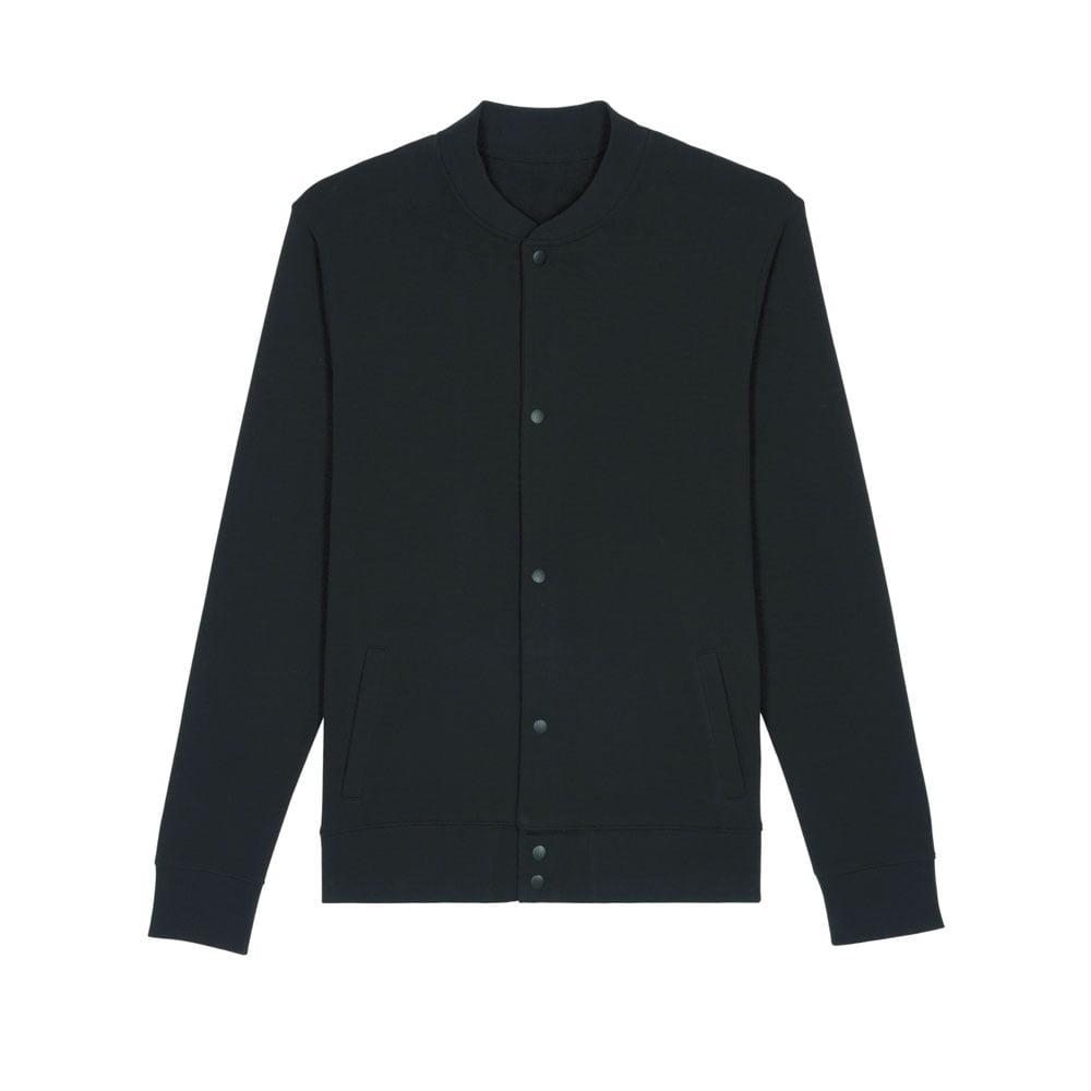 Bluzy - Bluza bomber Bounder - STSU806 - Black - RAVEN - koszulki reklamowe z nadrukiem, odzież reklamowa i gastronomiczna