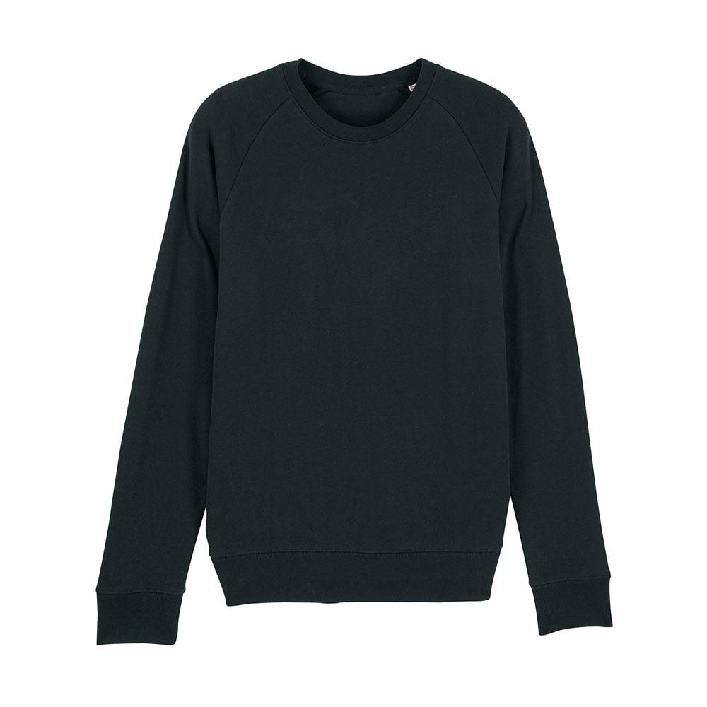 Bluzy - Męska Bluza Stanley Stroller - STSM567 - Black - RAVEN - koszulki reklamowe z nadrukiem, odzież reklamowa i gastronomiczna