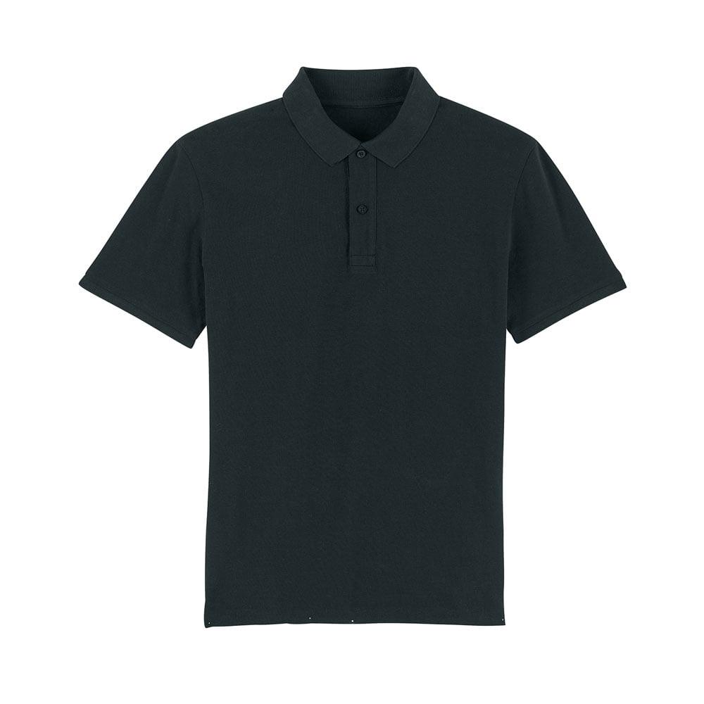 Koszulki Polo - Męska koszulka Polo Stanley Dedicator - STPM563 - Black - RAVEN - koszulki reklamowe z nadrukiem, odzież reklamowa i gastronomiczna