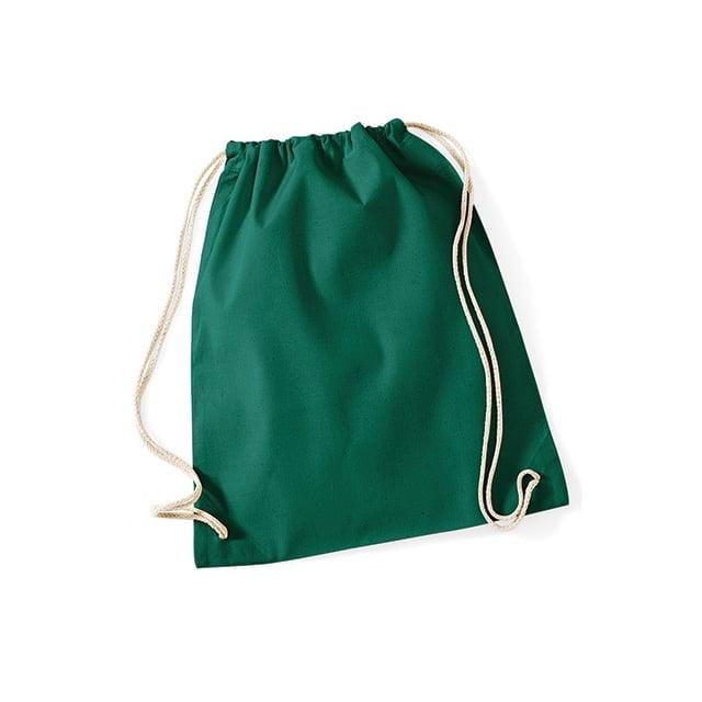 Torby i plecaki - Worek festiwalowy Cotton Gym - W110 - Bottle Green - RAVEN - koszulki reklamowe z nadrukiem, odzież reklamowa i gastronomiczna