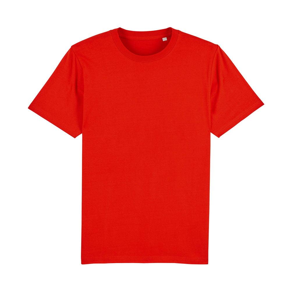 Koszulki T-Shirt - Męski T-shirt Stanley Sparker - STTM559 - Bright Red - RAVEN - koszulki reklamowe z nadrukiem, odzież reklamowa i gastronomiczna