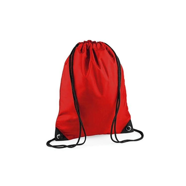 Torby i plecaki - Worek festiwalowy Premium - BG10 - Bright Red - RAVEN - koszulki reklamowe z nadrukiem, odzież reklamowa i gastronomiczna