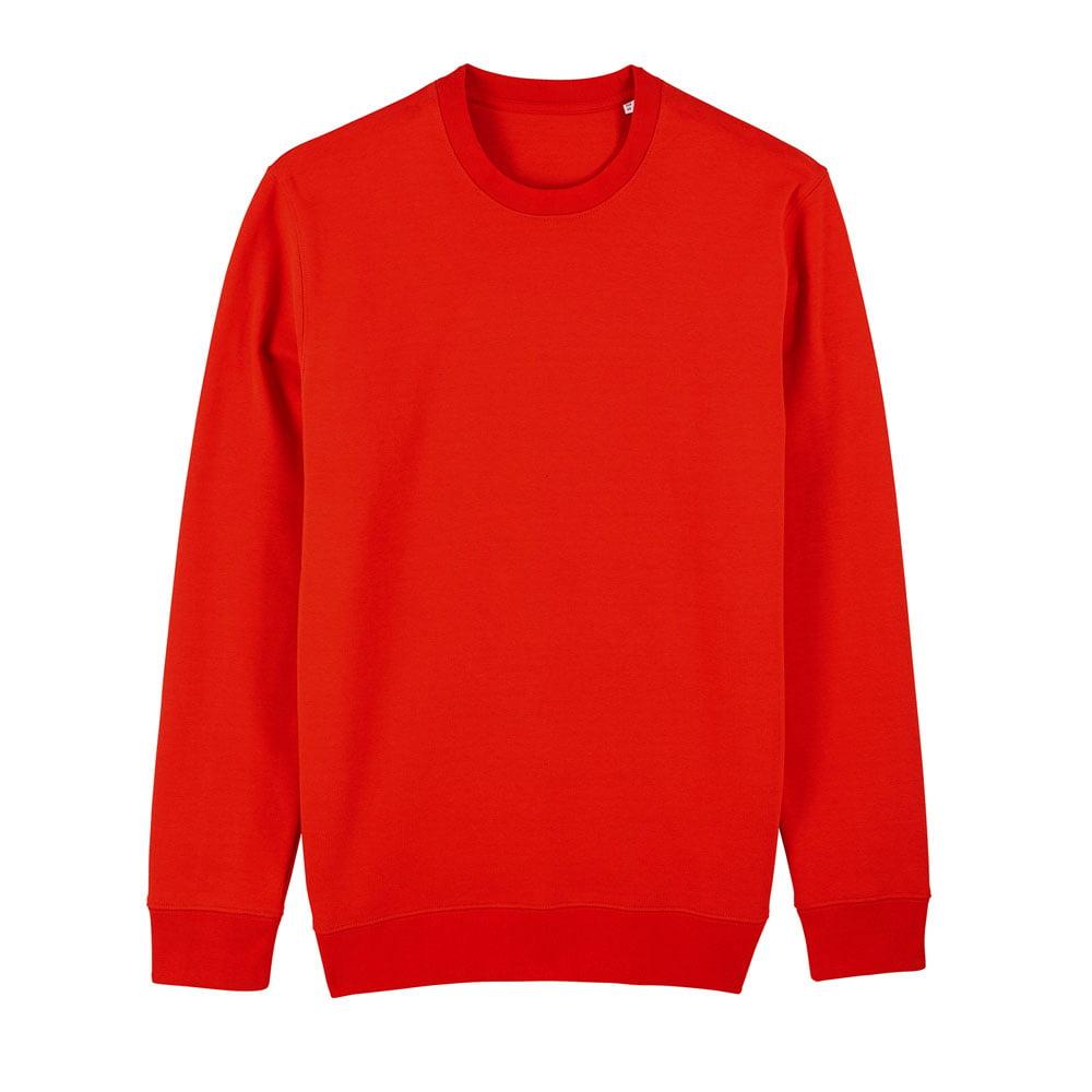 Bluzy - Bluza Unisex Changer - STSU823 - Bright Red - RAVEN - koszulki reklamowe z nadrukiem, odzież reklamowa i gastronomiczna