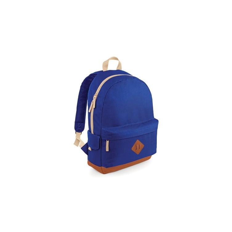 Torby i plecaki - Heritage Backpack - BG825 - Bright Royal - RAVEN - koszulki reklamowe z nadrukiem, odzież reklamowa i gastronomiczna