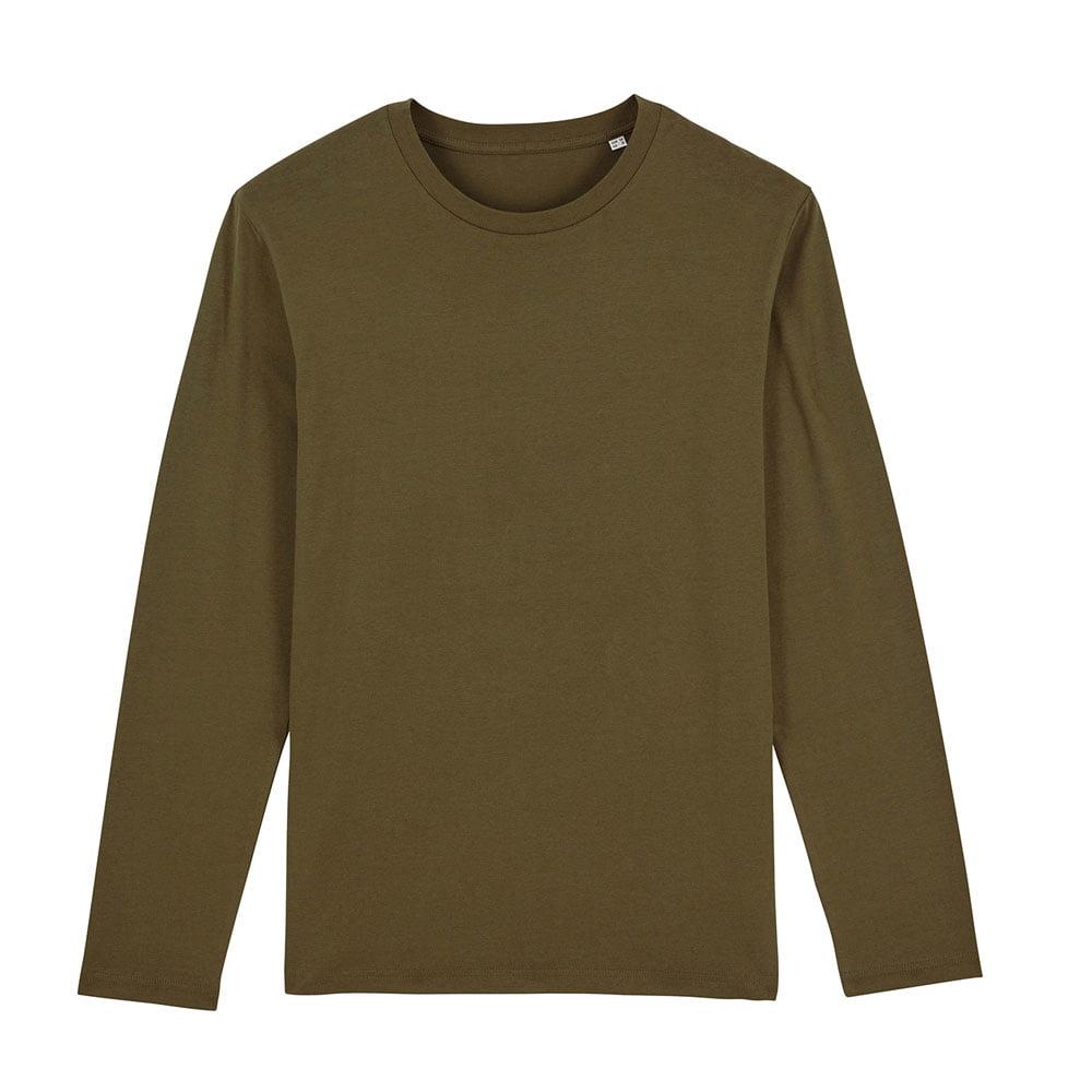 Koszulki T-Shirt - Męski Longsleeve Stanley Shuffler - STTM560 - British Khaki - RAVEN - koszulki reklamowe z nadrukiem, odzież reklamowa i gastronomiczna