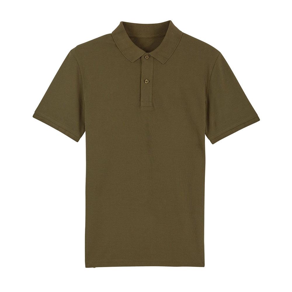 Koszulki Polo - Męska koszulka Polo Stanley Dedicator - STPM563 - British Khaki - RAVEN - koszulki reklamowe z nadrukiem, odzież reklamowa i gastronomiczna