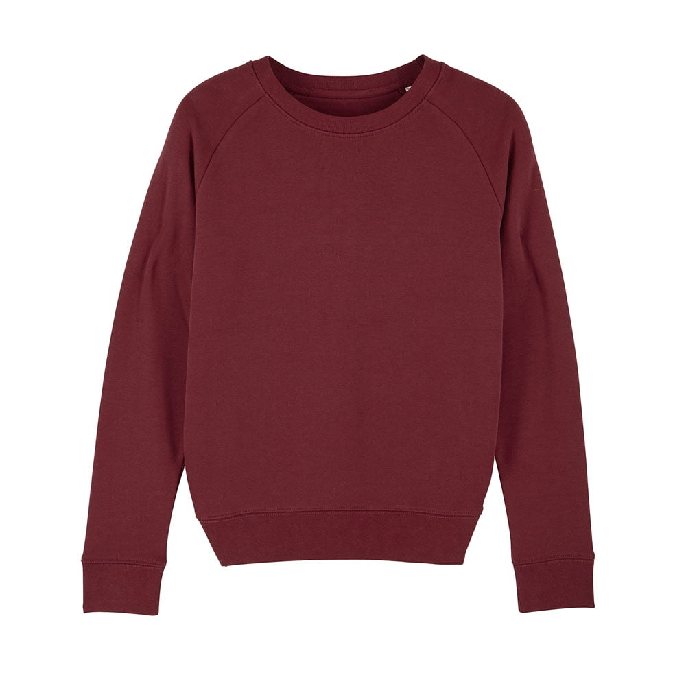 Bluzy - Damska Bluza Stella Tripster - STSW146 - Burgundy - RAVEN - koszulki reklamowe z nadrukiem, odzież reklamowa i gastronomiczna