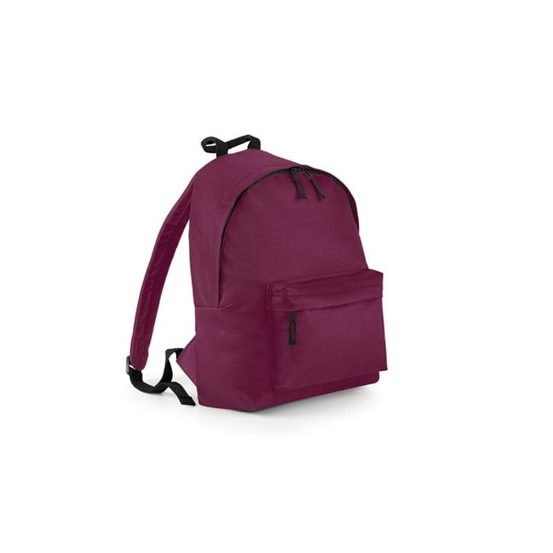 Torby i plecaki - Original Fashion Backpack - BG125 - Burgundy - RAVEN - koszulki reklamowe z nadrukiem, odzież reklamowa i gastronomiczna