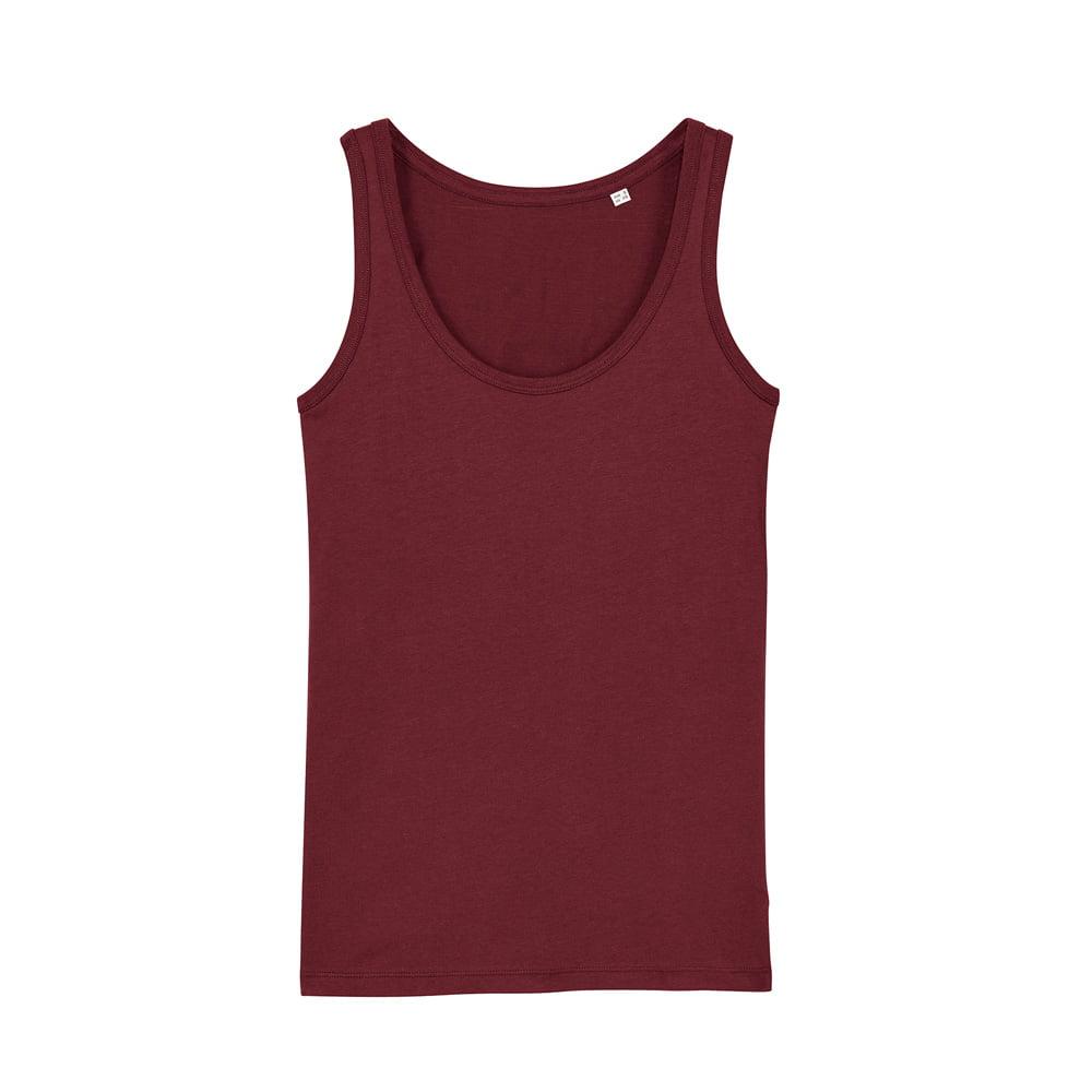 Koszulki T-Shirt - Damski Tank Top Stella Dreamer - STTW013 - Burgundy - RAVEN - koszulki reklamowe z nadrukiem, odzież reklamowa i gastronomiczna