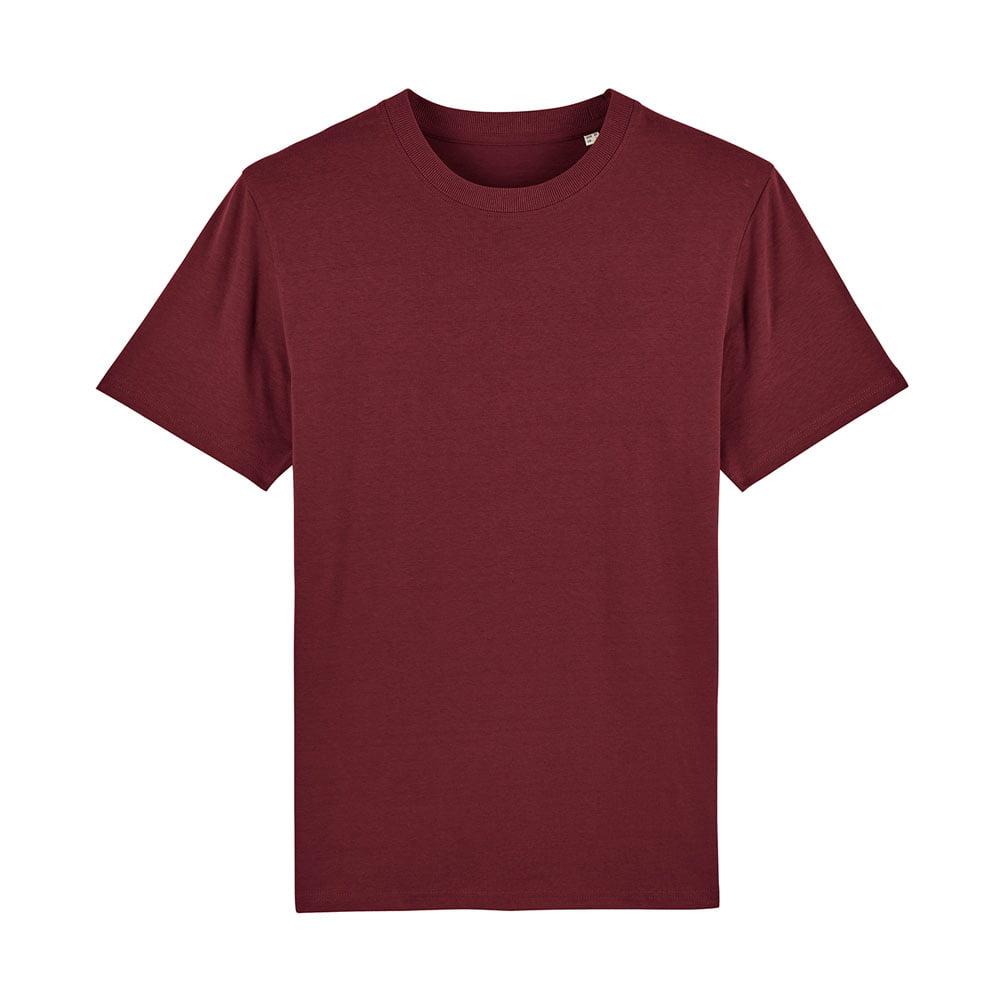 Koszulki T-Shirt - Męski T-shirt Stanley Sparker - STTM559 - Burgundy - RAVEN - koszulki reklamowe z nadrukiem, odzież reklamowa i gastronomiczna