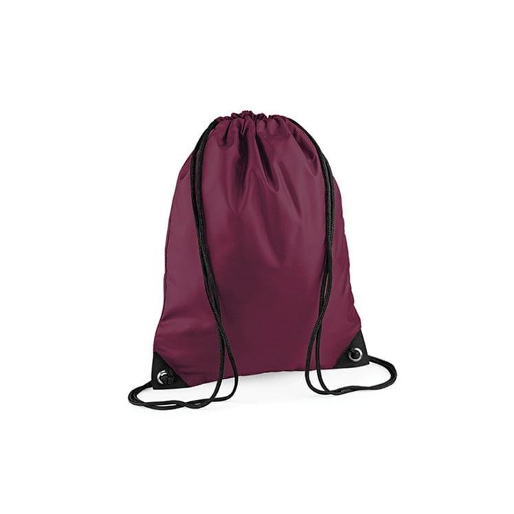 Torby i plecaki - Worek festiwalowy Premium - BG10 - Burgundy - RAVEN - koszulki reklamowe z nadrukiem, odzież reklamowa i gastronomiczna