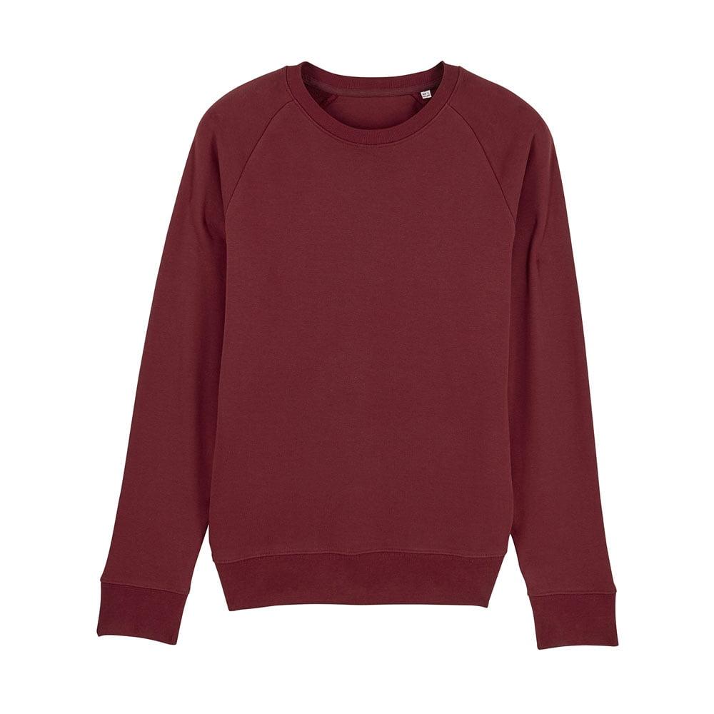 Bluzy - Męska Bluza Stanley Stroller - STSM567 - Burgundy - RAVEN - koszulki reklamowe z nadrukiem, odzież reklamowa i gastronomiczna