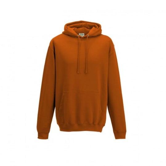 Bluzy - Bluza z kapturem College - Just Hoods JH001 - Burnt Orange - RAVEN - koszulki reklamowe z nadrukiem, odzież reklamowa i gastronomiczna