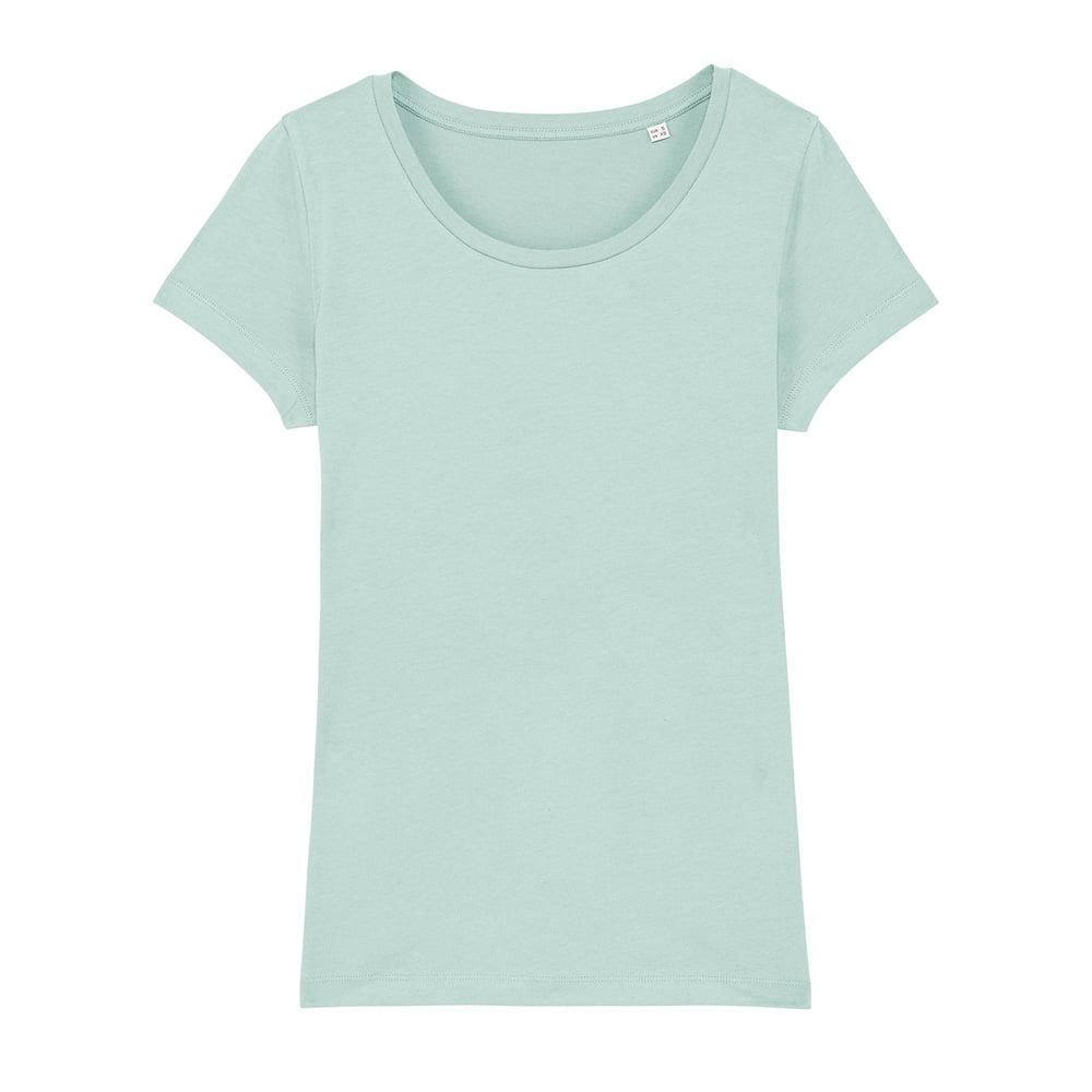 Koszulki T-Shirt - Damski T-shirt Stella Lover - STTW017 - Caribbean Blue - RAVEN - koszulki reklamowe z nadrukiem, odzież reklamowa i gastronomiczna
