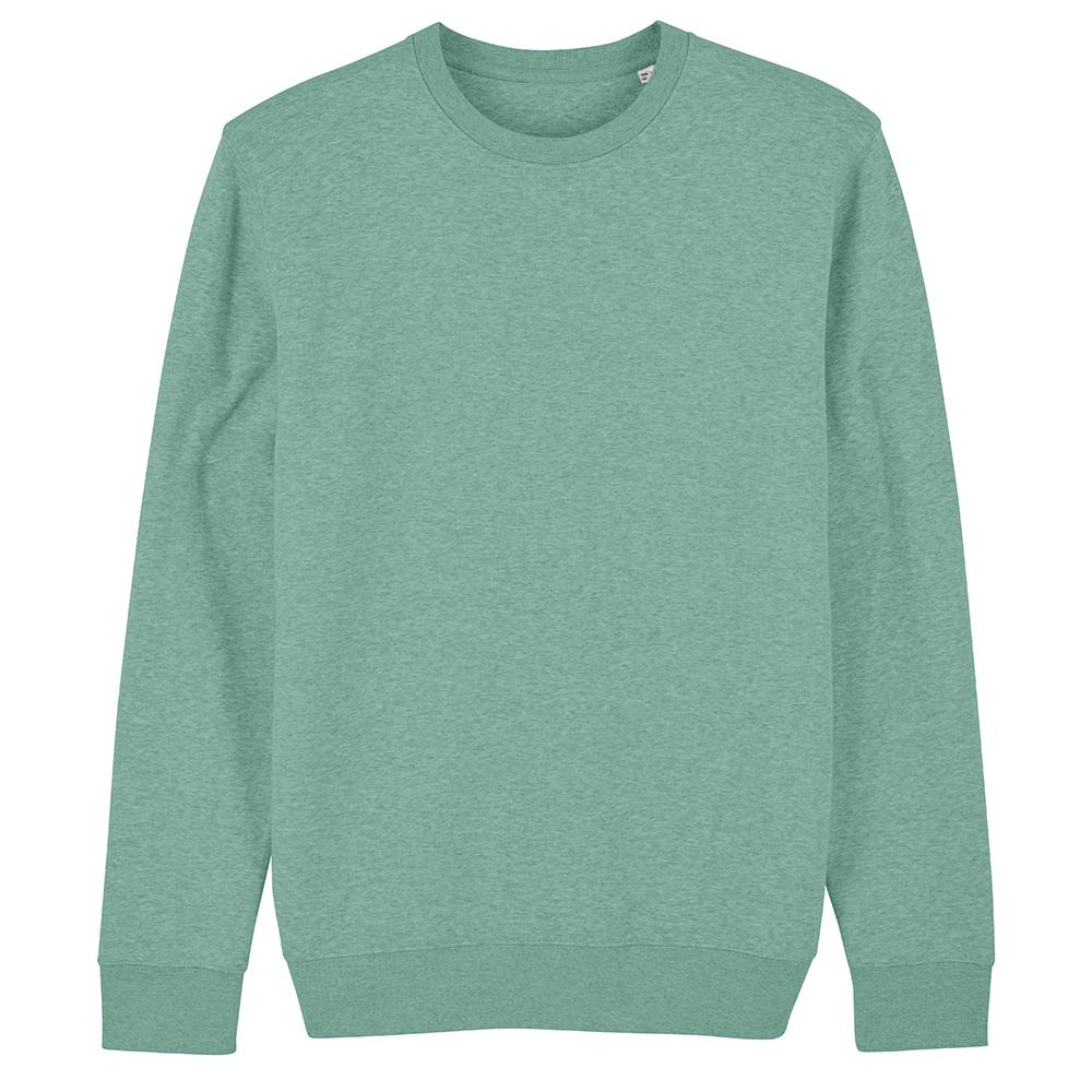 Bluzy - Bluza Unisex Changer - STSU823 - Mid Heather Green - RAVEN - koszulki reklamowe z nadrukiem, odzież reklamowa i gastronomiczna