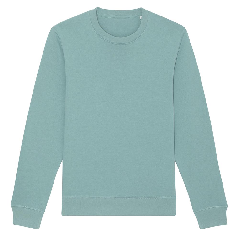 Bluzy - Bluza Unisex Changer - STSU823 - Teal Monstera - RAVEN - koszulki reklamowe z nadrukiem, odzież reklamowa i gastronomiczna