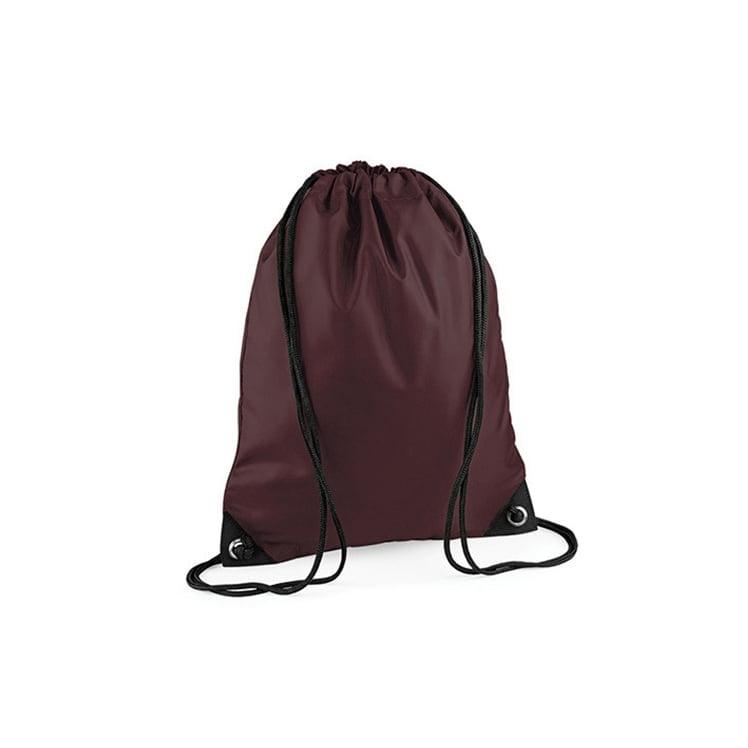 Torby i plecaki - Worek festiwalowy Premium - BG10 - Chocolate - RAVEN - koszulki reklamowe z nadrukiem, odzież reklamowa i gastronomiczna