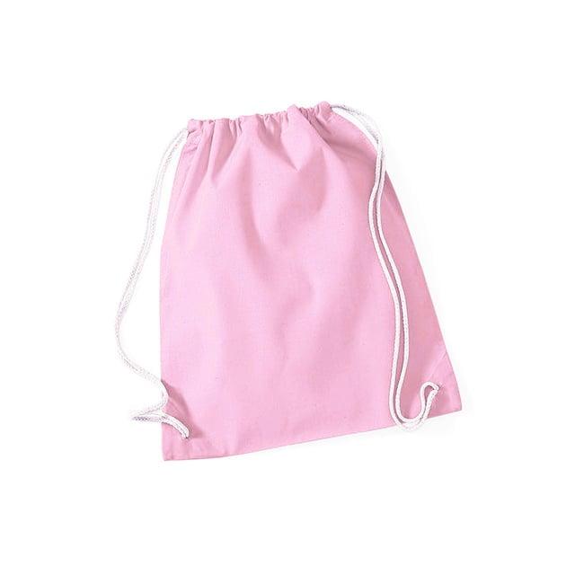Torby i plecaki - Worek festiwalowy Cotton Gym - W110 - Classic Pink - RAVEN - koszulki reklamowe z nadrukiem, odzież reklamowa i gastronomiczna