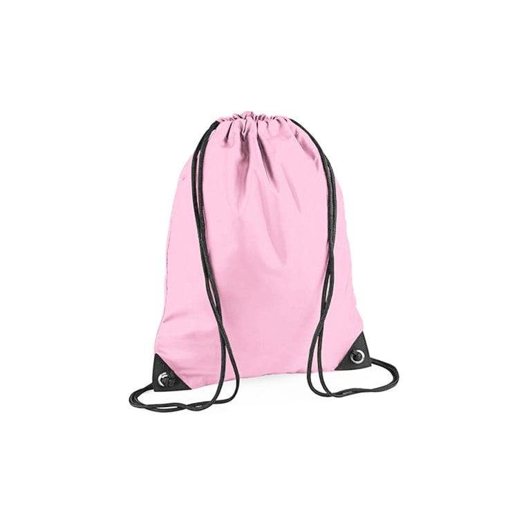 Torby i plecaki - Worek festiwalowy Premium - BG10 - Classic Pink - RAVEN - koszulki reklamowe z nadrukiem, odzież reklamowa i gastronomiczna