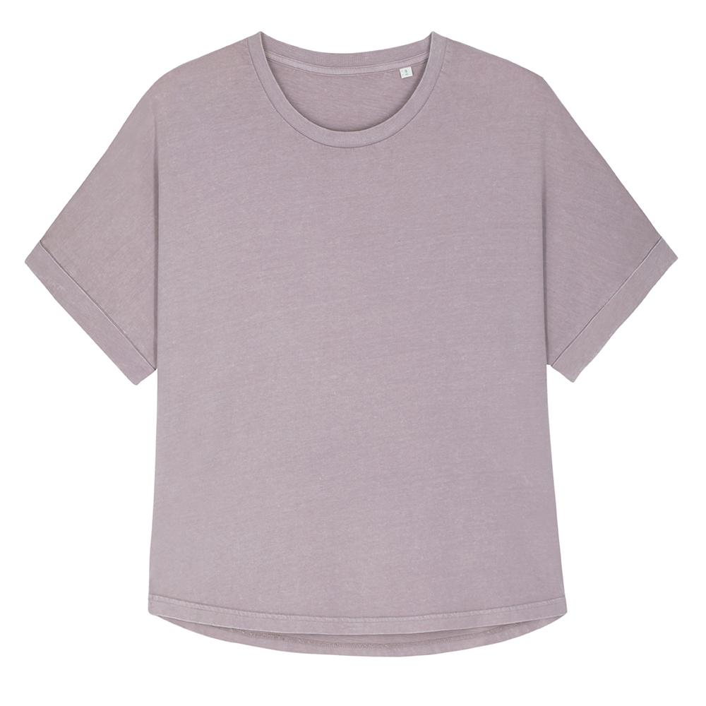 Koszulki T-Shirt - T-shirt damski Stella Collider Vintage - STTW068 - RAVEN - koszulki reklamowe z nadrukiem, odzież reklamowa i gastronomiczna