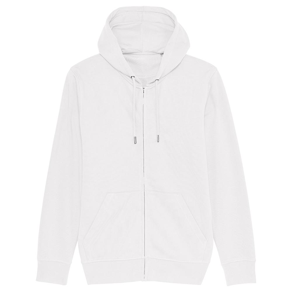 Bluzy - Bluza Unisex z Kapturem Connector - STSU820 - White - RAVEN - koszulki reklamowe z nadrukiem, odzież reklamowa i gastronomiczna