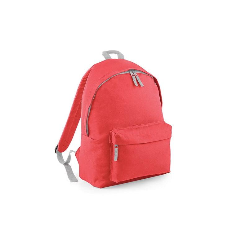 Torby i plecaki - Original Fashion Backpack - BG125 - Coral - RAVEN - koszulki reklamowe z nadrukiem, odzież reklamowa i gastronomiczna