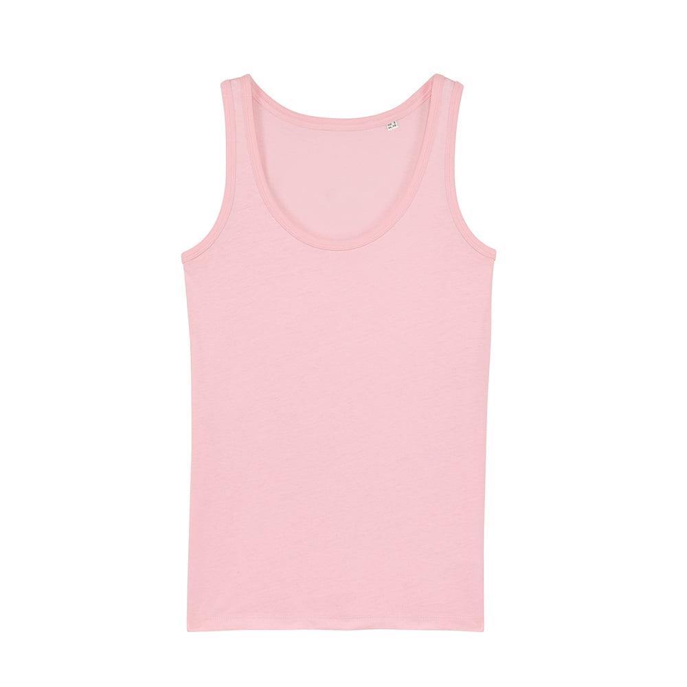 Koszulki T-Shirt - Damski Tank Top Stella Dreamer - STTW013 - Cotton Pink - RAVEN - koszulki reklamowe z nadrukiem, odzież reklamowa i gastronomiczna