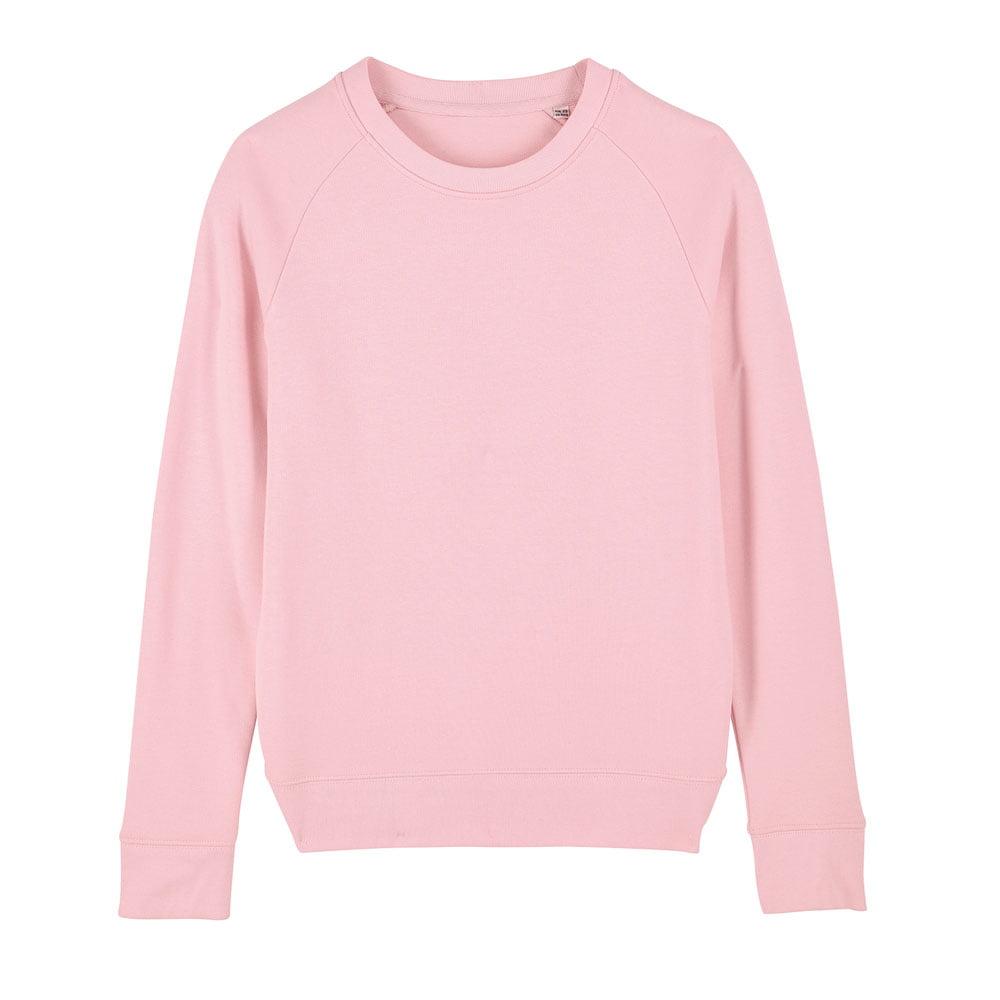 Bluzy - Damska Bluza Stella Tripster - STSW146 - Cotton Pink - RAVEN - koszulki reklamowe z nadrukiem, odzież reklamowa i gastronomiczna