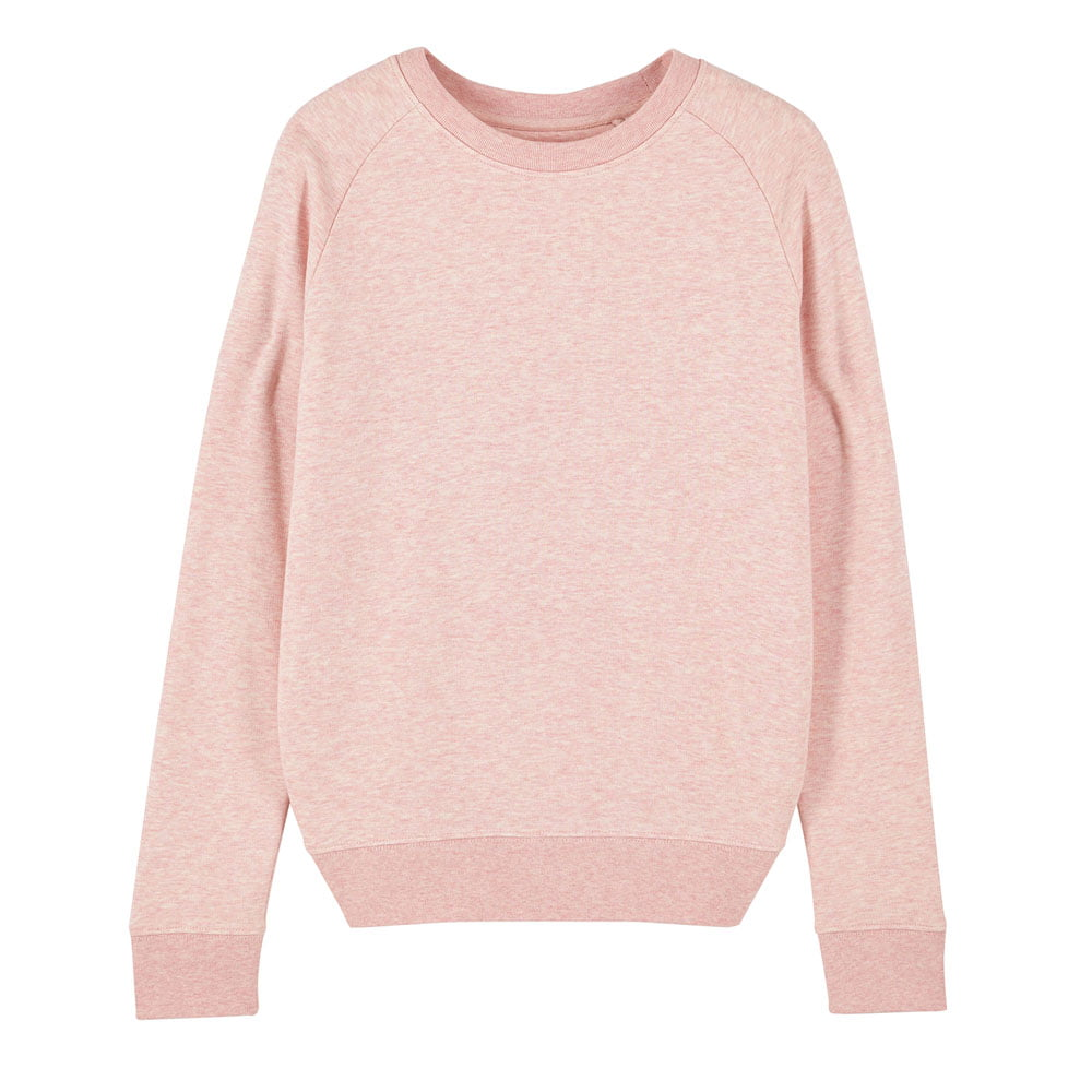 Bluzy - Damska Bluza Stella Tripster - STSW146 - Cream Heather Pink - RAVEN - koszulki reklamowe z nadrukiem, odzież reklamowa i gastronomiczna
