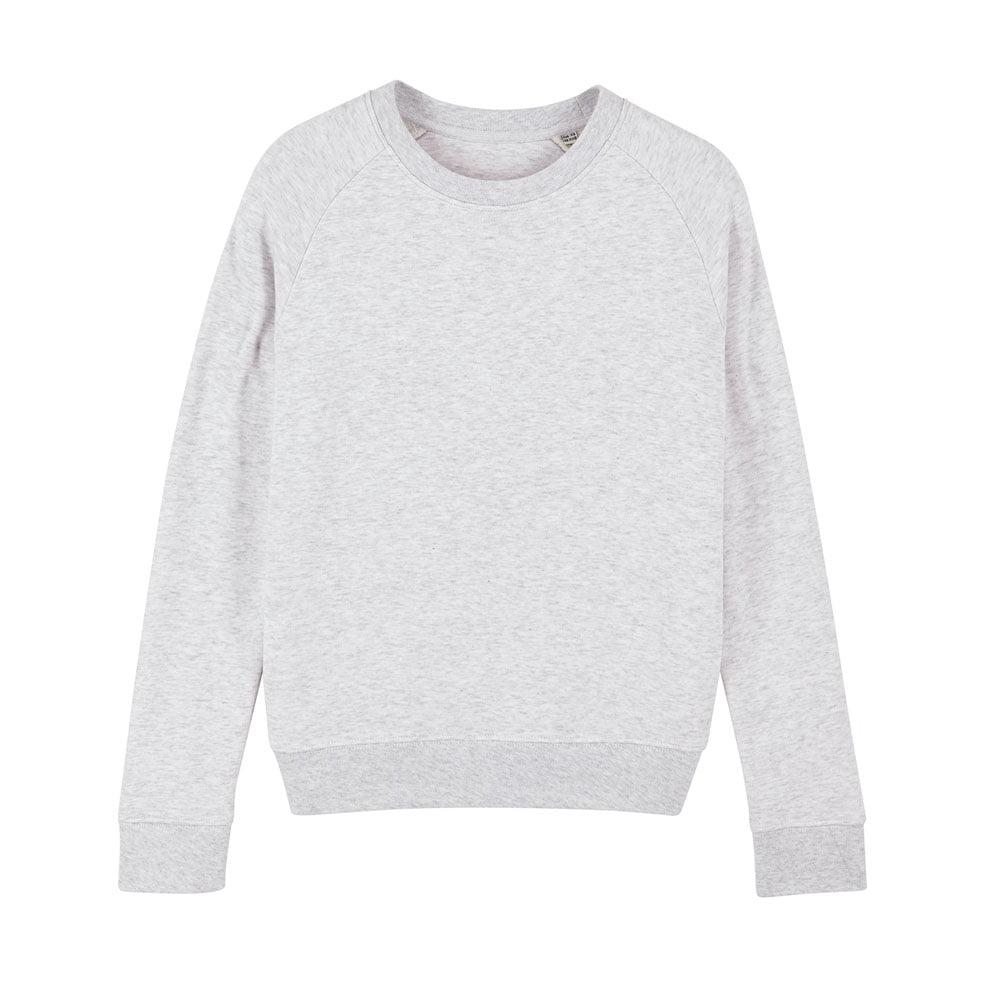Bluzy - Damska Bluza Stella Tripster - STSW146 - Cream Heather Grey - RAVEN - koszulki reklamowe z nadrukiem, odzież reklamowa i gastronomiczna