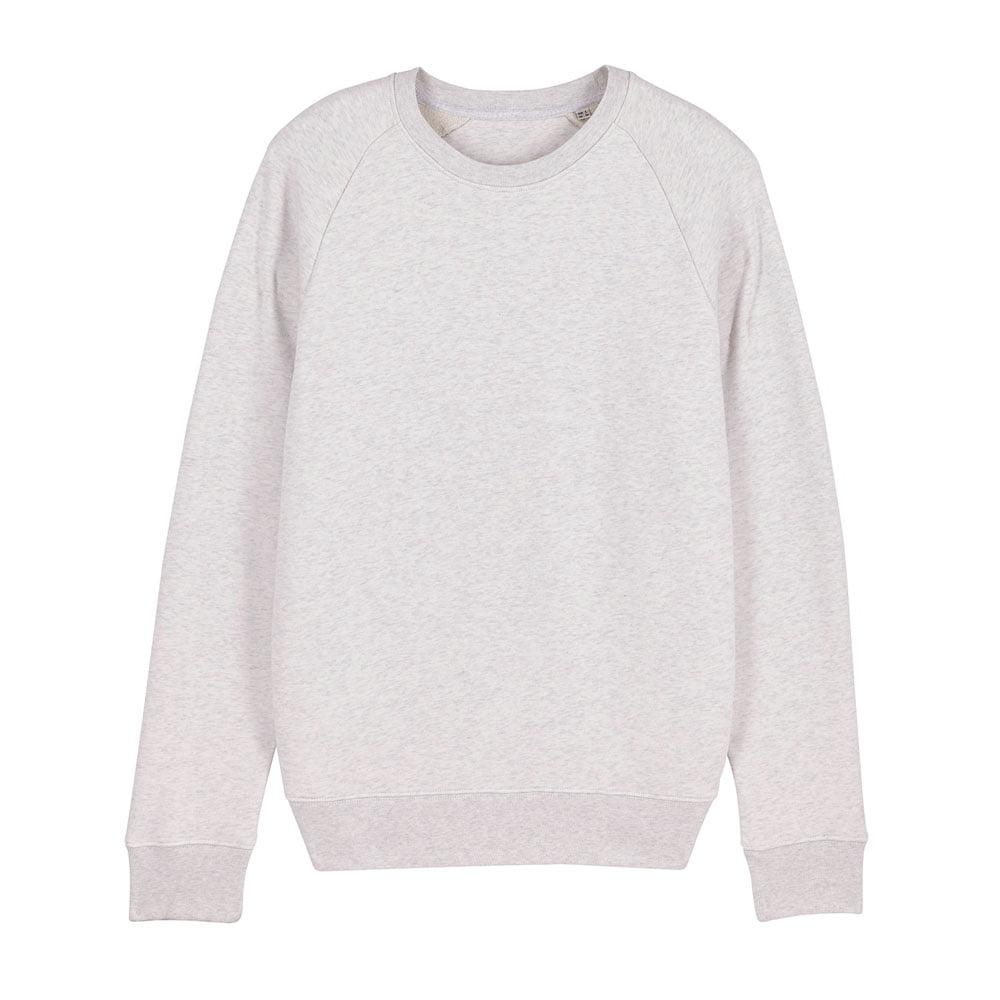 Bluzy - Męska Bluza Stanley Stroller - STSM567 - Cream Heather Grey - RAVEN - koszulki reklamowe z nadrukiem, odzież reklamowa i gastronomiczna