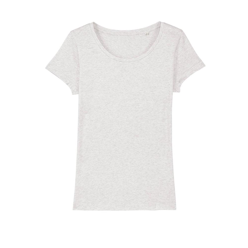 Koszulki T-Shirt - Damski T-shirt Stella Lover - STTW017 - Cream Heather Grey - RAVEN - koszulki reklamowe z nadrukiem, odzież reklamowa i gastronomiczna