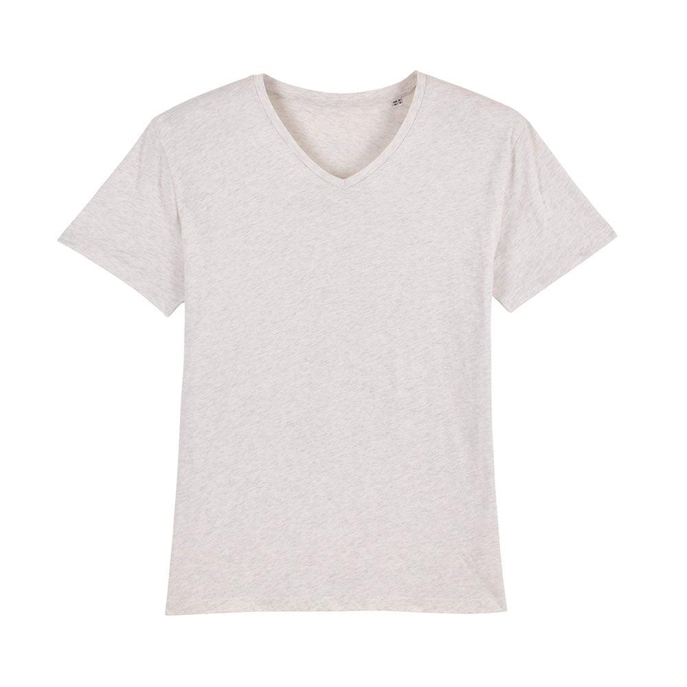 Koszulki T-Shirt - Męski T-shirt Stanley Presenter - STTM562 - Cream Heather Grey - RAVEN - koszulki reklamowe z nadrukiem, odzież reklamowa i gastronomiczna