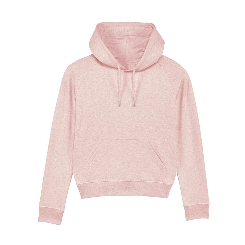 Bluzy - Damska Bluza Stella Trigger - STSW148 - Cream Heather Pink - RAVEN - koszulki reklamowe z nadrukiem, odzież reklamowa i gastronomiczna