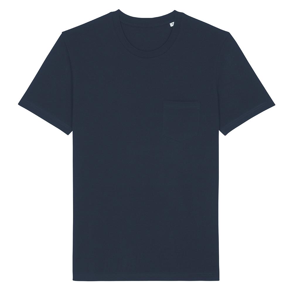 Koszulki T-Shirt - T-shirt unisex Creator Pocket - STTU830 - French Navy - RAVEN - koszulki reklamowe z nadrukiem, odzież reklamowa i gastronomiczna