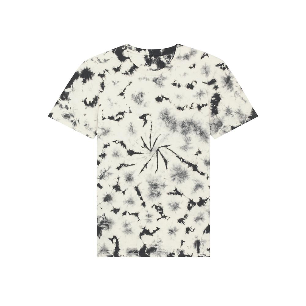Koszulki T-Shirt - Creator Tie and Dye - STTU757 - Natural Raw/Black - RAVEN - koszulki reklamowe z nadrukiem, odzież reklamowa i gastronomiczna