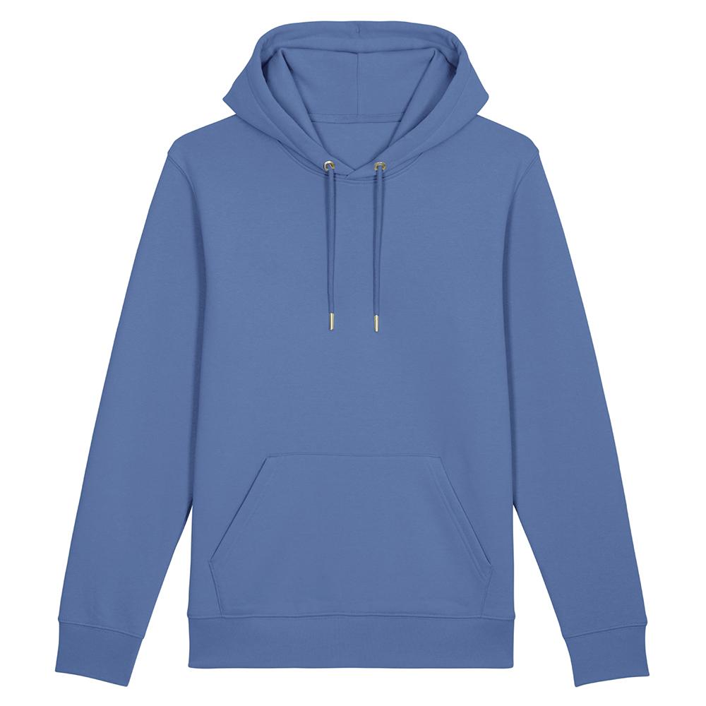Bluzy - Bluza Unisex z Kapturem Cruiser - STSU822 - Bright Blue - RAVEN - koszulki reklamowe z nadrukiem, odzież reklamowa i gastronomiczna