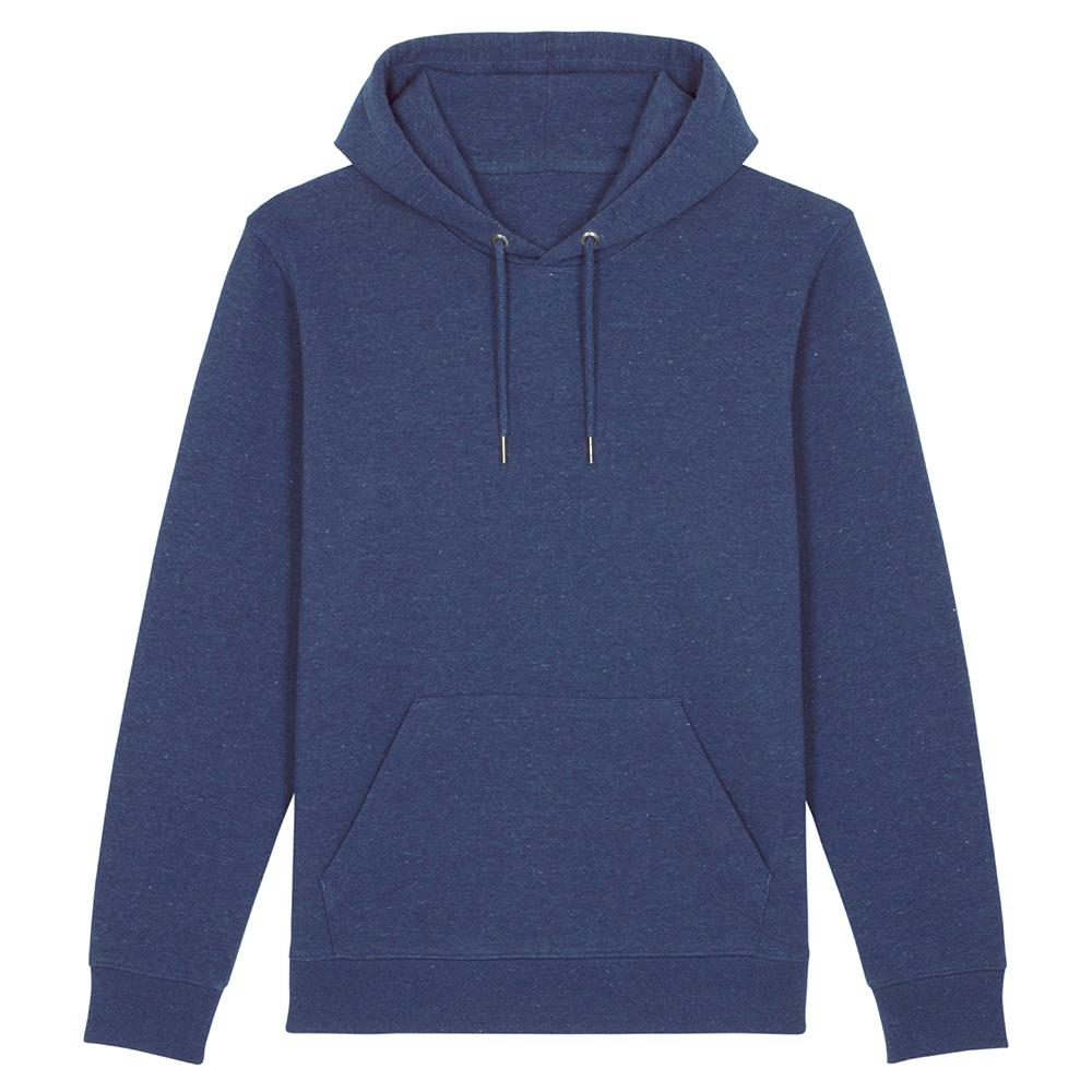 Bluzy - Bluza Unisex z Kapturem Cruiser - STSU822 - Heather Snow Mid Blue - RAVEN - koszulki reklamowe z nadrukiem, odzież reklamowa i gastronomiczna