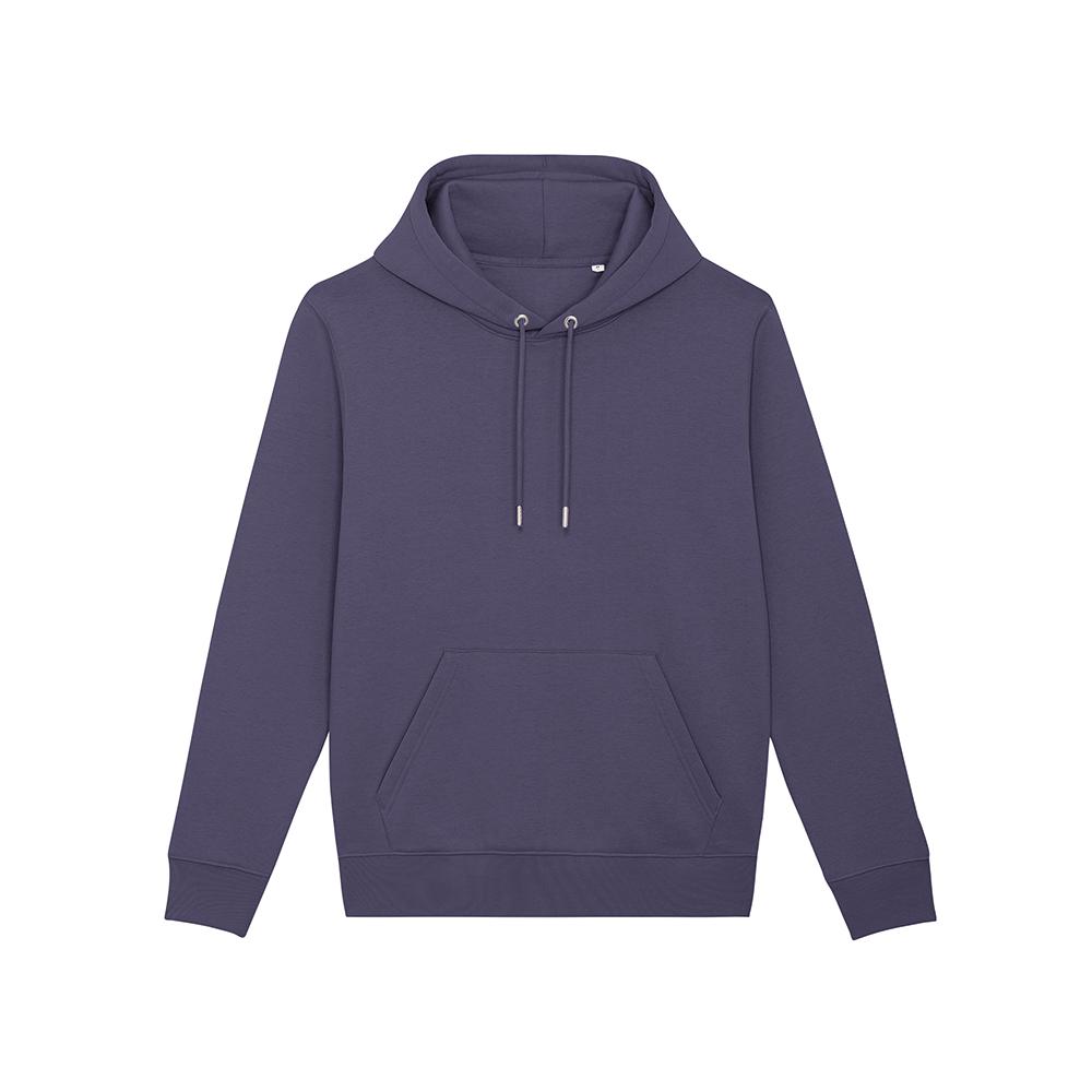 Bluzy - Bluza Unisex z Kapturem Cruiser - STSU822 - Indigo Hush - RAVEN - koszulki reklamowe z nadrukiem, odzież reklamowa i gastronomiczna