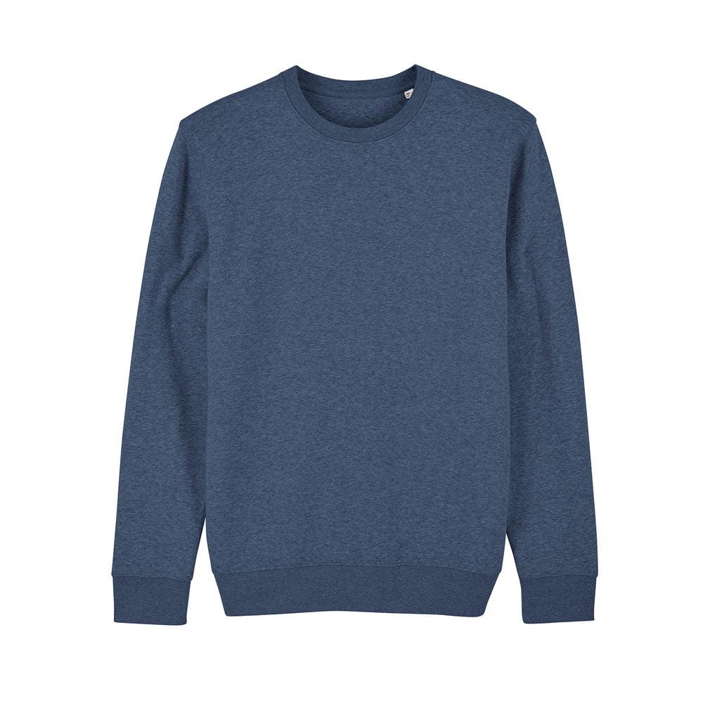 Bluzy - Bluza Unisex Changer - STSU823 - Dark Heather Blue - RAVEN - koszulki reklamowe z nadrukiem, odzież reklamowa i gastronomiczna