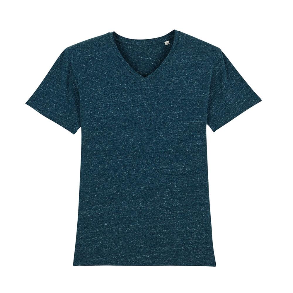 Koszulki T-Shirt - Męski T-shirt Stanley Presenter - STTM562 - Dark Heather Denim - RAVEN - koszulki reklamowe z nadrukiem, odzież reklamowa i gastronomiczna